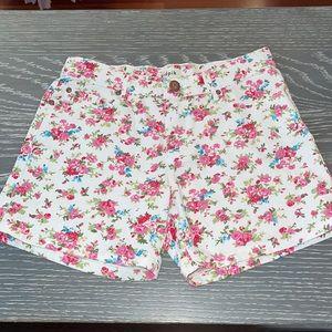 girls floral kidpik shorts